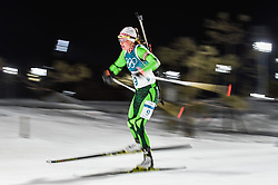 February 12, 2018 - Pyeongchang, Gangwon, South Korea - Darya Domracheva of Belarus competing at Women's 10km Pursuit, Biathlon, at olympics at Alpensia biathlon stadium, Pyeongchang, South Korea. on February 12, 2018. (Credit Image: © Ulrik Pedersen/NurPhoto via ZUMA Press)