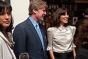 POLLY SAMSON; MARK GETTY; BELLA FREUD, Freud Museum dinner, Maresfield Gardens. 16 June 2011. <br /> <br />  , -DO NOT ARCHIVE-© Copyright Photograph by Dafydd Jones. 248 Clapham Rd. London SW9 0PZ. Tel 0207 820 0771. www.dafjones.com.