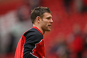 Liverpool midfielder James Milner  during the Barclays Premier League match between Liverpool and Sunderland at Anfield, Liverpool, England on 6 February 2016. Photo by Simon Davies.