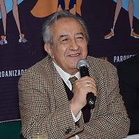 Toluca, México (Noviembre 22, 2016).- Gabriel Ezeta Mool, presidente del Club Rotarios de Toluca, en conferencia de prensa anuncio la Tercer Carrera Atlética Seamos Héroes a benefició de diferentes comunidades del Valle de Toluca.  Agencia MVT / José Hernández