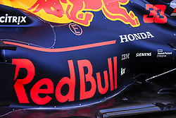 March 1, 2019 - Barcelona, Barcelona, Spain - Red Bull with Honda engine during the Formula 1 2019 Pre-Season Tests at Circuit de Barcelona - Catalunya in Montmelo, Spain on March 1. (Credit Image: © Xavier Bonilla/NurPhoto via ZUMA Press)