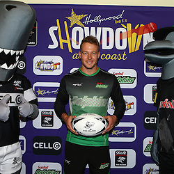 Durban South Africa -  December 3, David Miller of the Sunfoil Dolphins Hollywoodbets during the joint announcement by Hollywoodbets, Cell C, the Sunfoil Dolphins and the Cell C Sharks at the President Suite at Sahara Stadium Kingsmead.Sahara Stadium Kingsmead (Photo by Steve Haag)images for social media must have consent from Steve Haag