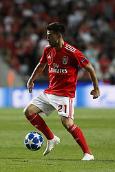 September 19, 2018 - Lisbon, Portugal - Pizzi of Benfica in action  during Champions League 2018/19 match between SL Benfica vs FC Bayern Munchen, in Lisbon, on September 19, 2018. (Credit Image: © Carlos Palma/NurPhoto/ZUMA Press)