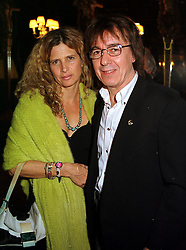 MR & MRS BILL WYMAN he is the former Rolling Stone, at a reception in London on 1st November 1999.MYI 5
