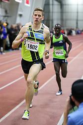 Kidder lead Cheserek, Mile<br /> Boston University Athletics<br /> Hemery Invitational Indoor Track & Field