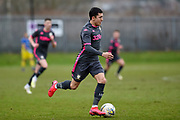 Ian Poueda of Leeds United Under 23's during the U23 Professional Development League match between Barnsley and Leeds United at Oakwell, Barnsley, England on 9 March 2020.