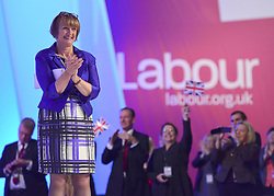 © Licensed to London News Pictures. 02/10/2012. Manchester, UK Tessa Jowell receives a standing ovation after she addresses conference. The Labour Party Conference Day 3 at Manchester Central. Photo credit : Stephen Simpson/LNP
