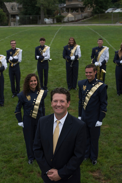 Jason Cheskawich - Band Director of Mt Lebanon High School Marching Band