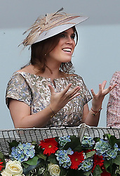 Princess Eugenie at the Epsom Derby in Epsom, England, Saturday 1st June 2013 Picture by Stephen Lock / i-Images