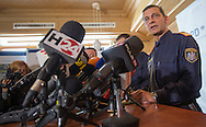 Austrian police at a presentation of new boarder controls as Austria tightens its boarder with Italy at Gries am Brenner, Innsbruck-Land, Austria.<br /> Picture by EXPA Pictures/Focus Images Ltd 07814482222<br /> 27/04/2016<br /> ***UK &amp; IRELAND ONLY***