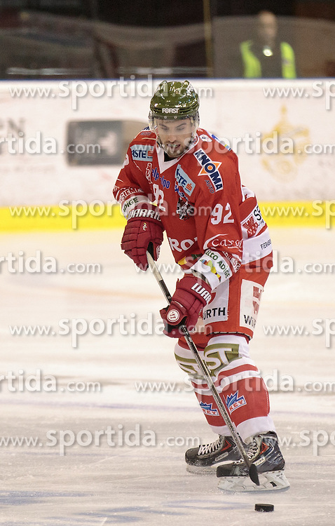 04.10.2015, Eiswelle, Bozen, ITA, EBEL, HCB Suedtirol vs EC KAC, 8. Runde, im Bild Matic Podlipnic (HCB Suedtirol) // during the Erste Bank Icehockey League 8th round match between HCB Suedtirol and EC KAC at the Eiswelle in Bozen, Italy on 2015/10/04. EXPA Pictures © 2015, PhotoCredit: EXPA/ Johann Groder