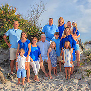 Bond-Adams Family Beach Photos