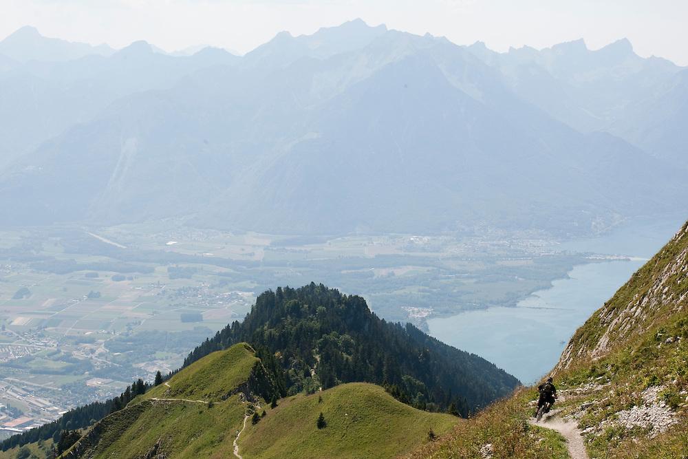 Rider: Yussuf Location: Rocher de Naye (Switzerland)