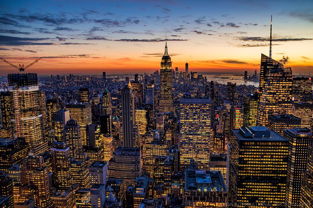 NYC - Manhattan @ Twilight