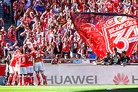 Joie Benfica - 23.05.2015 - Benfica / Maritimo - Liga Sagres <br /> Photo : Carlos Rodriguez / Icon Sport
