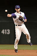 PHOENIX, AZ - APRIL 27:  Chris Owings #16 of the Arizona Diamondbacks throws the ball to make the out at first in the second inning against the San Diego Padres at Chase Field on April 27, 2017 in Phoenix, Arizona.  (Photo by Jennifer Stewart/Getty Images)