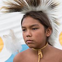 Mikah Martinez, 11 years old, Yakama/Makah tribe, PO Box 116, White Swan, WA 98952