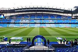 A general view of the Etihad Stadium  - Mandatory by-line: Matt McNulty/JMP - 26/04/2016 - FOOTBALL - Etihad Stadium - Manchester, England - Manchester City v Read Madrid - UEFA Champions League Semi Final First Leg
