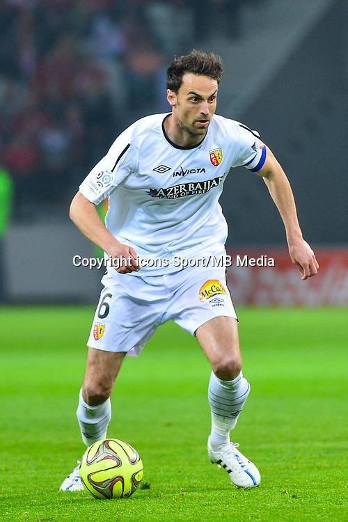 Jerome LE MOIGNE - 03.02.2015 - Lille / Lens - 35eme journee de Ligue 1<br />Photo : Dave Winter / Icon Sport