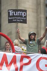 Trump Go Home Demo