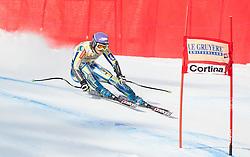 21.01.2011, Tofana, Cortina d Ampezzo, ITA, FIS World Cup Ski Alpin, Lady, Cortina, SuperG, im Bild Tina Maze (SLO, #19) // Tina Maze (SLO) during FIS Ski Worldcup ladies SuperG at pista Tofana in Cortina d Ampezzo, Italy on 21/1/2011. EXPA Pictures © 2011, PhotoCredit: EXPA/ J. Groder