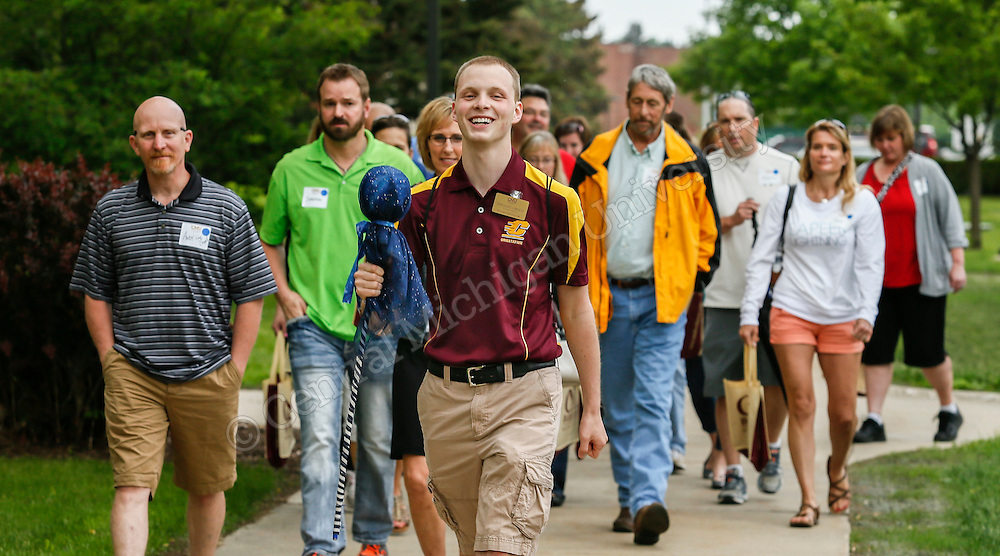 First Freshman Orientation session of the summer of 2015, this with parents in Plachta Auditorium. Photo by Steve Jessmore/ Central Michigan University