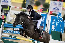 Housen Alexander, BEL, Cyklon Texass<br /> FEI Ponies Jumping Trophy<br /> Vlaanderens Kerstjumping Memorial Eric Wauters<br /> © Dirk Caremans<br /> 27/12/2016