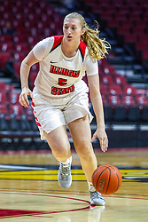 NORMAL, IL - November 05:  Lexy Koudelka during a college women's basketball game between the ISU Redbirds and the Truman State Bulldogs on November 05 2019 at Redbird Arena in Normal, IL. (Photo by Alan Look)