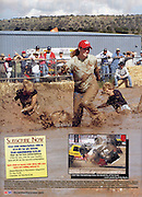 An image taken from the 2005 ATV Outlaw Jamboree was featured on the table of contents page 4 and 5 of Desert Sports and Recreation Magazine Volumn 1, Issue 6.