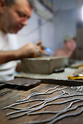Pirenopolis_GO, Brasil...Confeccao de Bijuterias artesanais em Pirenopolis, Goias...Elaboration of handmade jewelry in Pirenopolis, Goias...Foto: JOAO MARCOS ROSA / NITRO