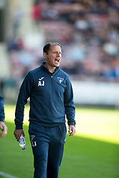Dunfermline&rsquo;s manager Allan Johnston. <br /> Dunfermline 7 v 1 Cowdenbeath, SPFL Ladbrokes League Division One game played 15/8/2015 at East End Park.