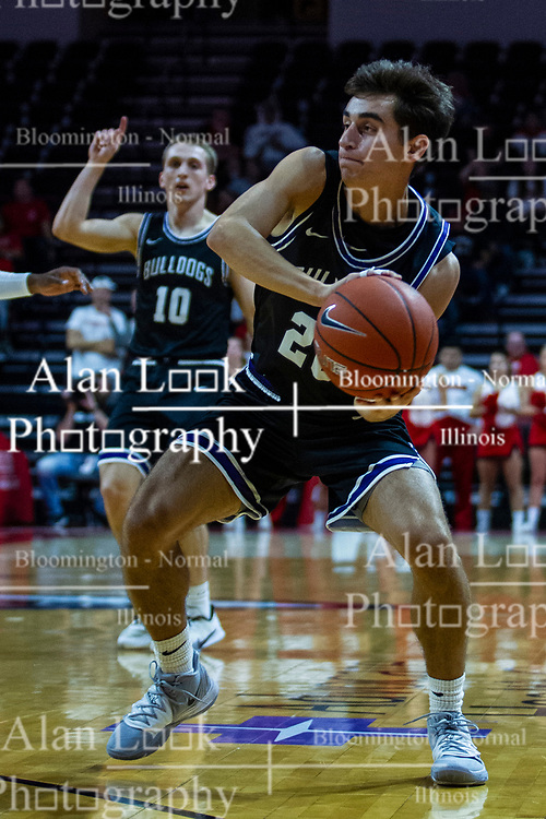NORMAL, IL - October 23: Ben Cooper during a college basketball game between the ISU Redbirds and the Truman State Bulldogs on October 23 2019 at Redbird Arena in Normal, IL. (Photo by Alan Look)