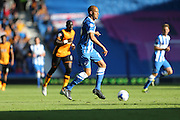 Brighton striker, Bobby Zamora, Robert Zamora on his home debut the Sky Bet Championship match between Brighton and Hove Albion and Hull City at the American Express Community Stadium, Brighton and Hove, England on 12 September 2015.