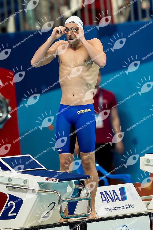 STRAVIUS Jeremy FRA<br /> 100 Freestyle Men Heats<br /> Swimming - Kazan Arena<br /> Day13 05/08/2015<br /> XVI FINA World Championships Aquatics Swimming<br /> Kazan Tatarstan RUS July 24 - Aug. 9 2015 <br /> Photo A.Masini/Deepbluemedia/Insidefoto