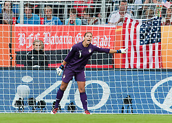 02.07.2011, Rhein-Neckar-Arena, Sinsheim, GER, FIFA Women Worldcup 2011, GRUPPE C, USA (USA) vs. Kolumbien (COL) , im Bild Hope SOLO (USA #1, Boca Raton magicJack)   // during the FIFA Women Worldcup 2011, Pool C, USA vs. Colombia on 2011/07/02, Rhein-Neckar-Arena, Sinsheim, Germany. EXPA Pictures © 2011, PhotoCredit: EXPA/ nph/  Roth       ****** out of GER / CRO  / BEL ******