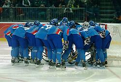 14-02-2006 IJSHOCKEY: ITALIE-RUSLAND VROUWEN: OLYMPISCHE WINTERSPELEN: TORINO<br /> Rusland verslaat Italy met 5-1 / <br /> ©2006-WWW.FOTOHOOGENDOORN.NL