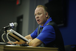 The University of Kentucky held its annual media day, Friday, Aug. 07, 2015 at Commonwealth Stadium in Lexington.