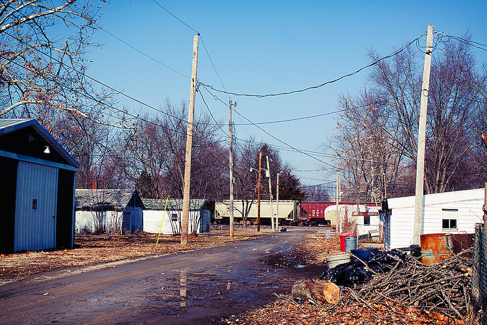 Back Alley, Centralia, IL.