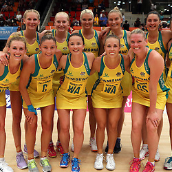 28,01,2017 AUSTRALIAN DIAMONDS VS SILVER FERNS
