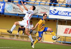 Ivan Filipovic and Sasa Bozicic at 33rd Round of PrvaLiga Telekom Slovenije 2008/2009 league match between NK Luka Koper and NK Labod Drava Ptuj, on May 9, 2009, in SRC Bonifika, Koper, Slovenia. Drava won 2:1. (Photo by Vid Ponikvar / Sportida)