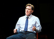 Future Conditional <br /> by Tamsin Oglesby<br /> directed by Matthew Warchus<br /> at The Old Vic Theatre, London, Great Britain, London, Great Britain<br /> 4th September 2015 <br /> <br /> Rob Brydon as Crane<br /> <br /> <br /> <br /> Photograph by Elliott Franks <br /> Image licensed to Elliott Franks Photography Services