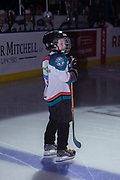 KELOWNA, CANADA - FEBRUARY 24:  Pepsi Player of the Game at the Kelowna Rockets game on February 24, 2018 at Prospera Place in Kelowna, British Columbia, Canada.  (Photo By Cindy Rogers/Nyasa Photography,  *** Local Caption ***
