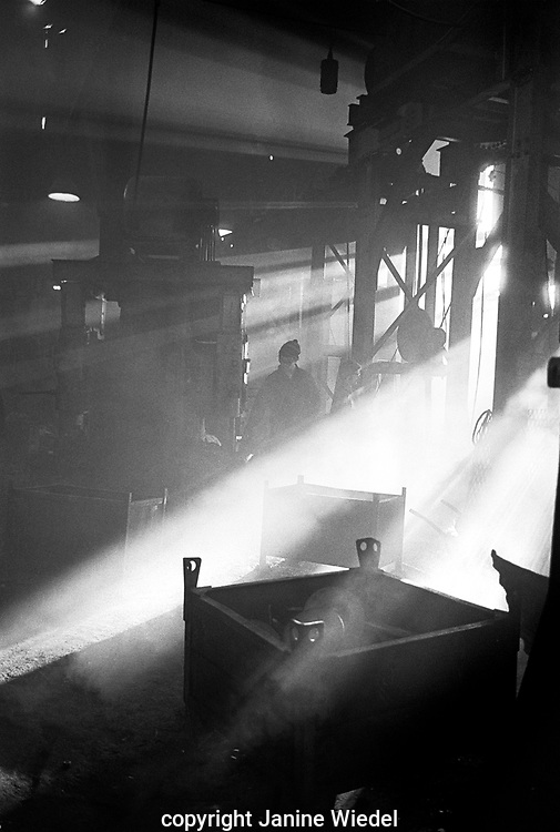 Workers at smiths drop Forge in Birmingham West midland UK