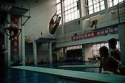 Diving school. Chongqing, China, 2007