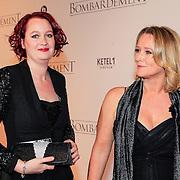 NLD/Rotterdam/20121218 - Premiere het Bombardement , Antoinette Hertsenberg en ?..