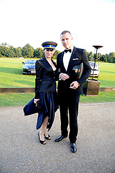 GRACE MARGOLIES and FREDERICK BACKMAN at the annual Ham Polo Club Summer Ball held at the club, Petersham Road, Richmond, Surrey on 25th July 2008.<br /> <br /> NON EXCLUSIVE - WORLD RIGHTS