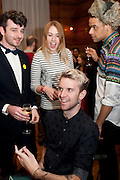 OLIVER HEMSLEY,; ,  Art Against Knives charity auction , Town Hall Hotel in Bethnal Green, London. 15 December 2011