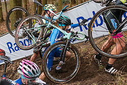 Bianchi of Chiara Teocchi (ITA), Women, Cyclo-cross World Cup Hoogerheide, The Netherlands, 25 January 2015, Photo by Pim Nijland / PelotonPhotos.com