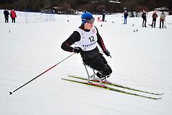 IURKOVSKA Olena, UKR at the 2014 IPC Nordic Skiing World Cup Finals - Long Distance