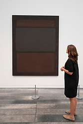 No.14 (Browns over Dark) by Mark Rothko
